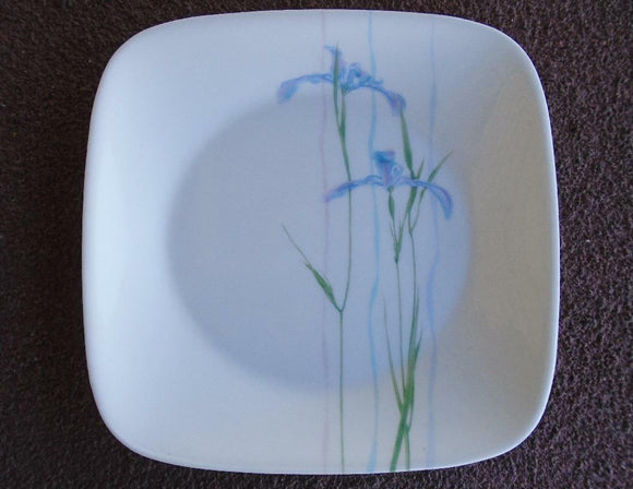 1 Corelle SHADOW IRIS Square 6 1/2