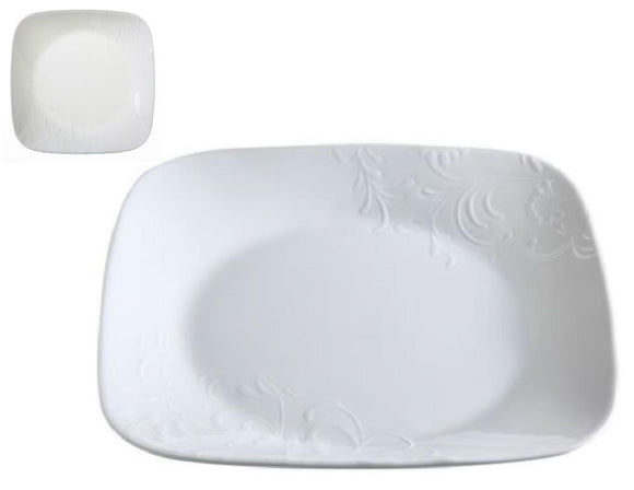 1 Corelle BOUTIQUE CHERISH White Embossed 6.5