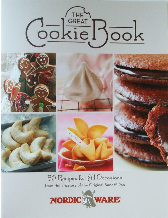 Nordicware THE GREAT COOKIE BOOK *50 Recipe Cookbook Baked Goods Color Photos