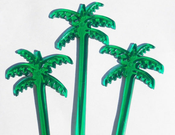 50 Green PALM TREES Leaves 7