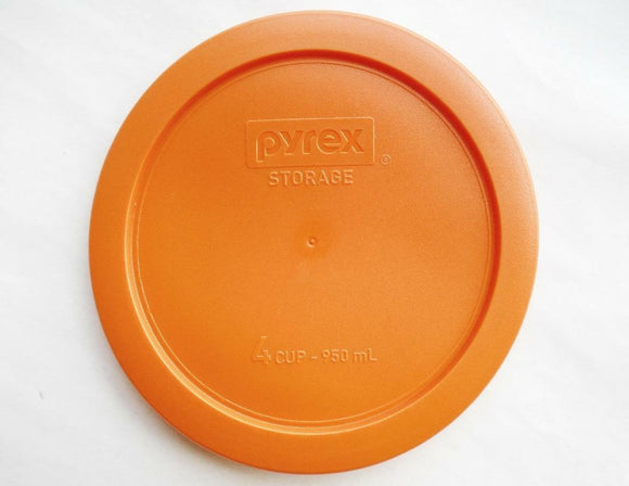1 PYREX Storage 4 Cup ROUND ORANGE 6