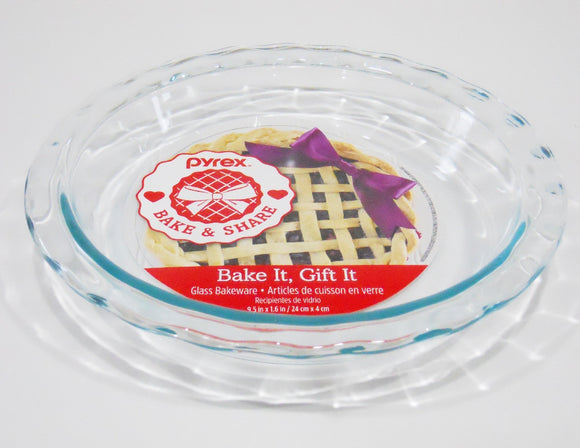 New PYREX Easy Grab CLEAR GLASS 11-1/4