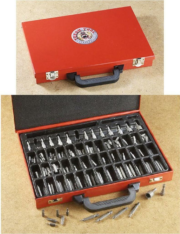 200pc YUKON TOOL Pro-Grade Contractors SAE & Metric BIT / DRIVER SET & CASE *New