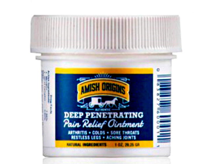 AMISH ORIGINS DEEP PENETRATING OINTMENT 1oz