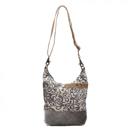 MYRA FLORAL PRINT SHOULDER BAG