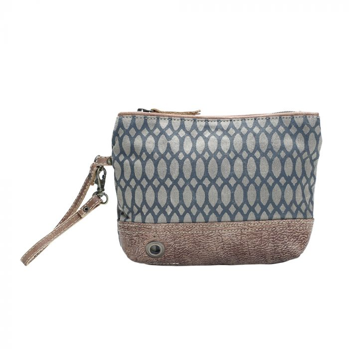MYRA HONEY BEE PRINT POUCH