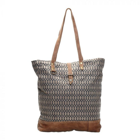 MYRA HONEY BEE PRINT TOTE BAG