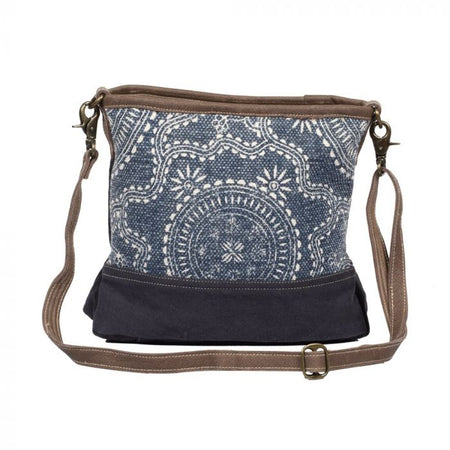 MYRA NAVY KILIM SHOULDER BAG