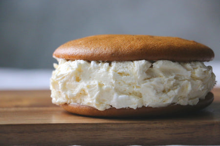 Pumpkin Whoopie Pie with CREAM CHEESE Filling (1 Large Dozen)