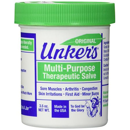 Unker's 3.5 oz. Medicated Salve