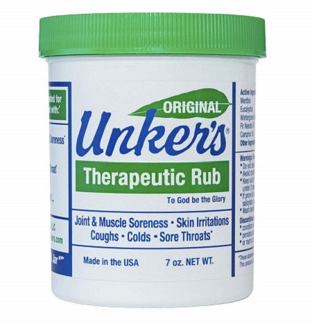 Unker's 7 oz. Medicated Salve
