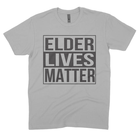 ELDER LIVES MATTER GREY TEE