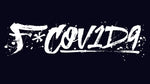 Black or White F*COV1D9 Decal 12x3.3