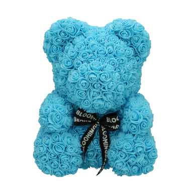 Rose Bear baby blue