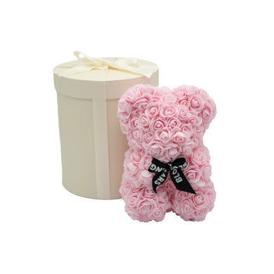 Pink MINI with luxury creme gift box