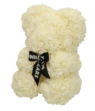 Afbeelding in Gallery-weergave laden, Rose Bear white MINI