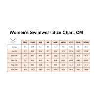 Women's Swimwear size chart, In Pascale Swim