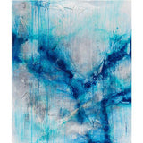 Fashion scarf in abstract blue  by Sarah Phelps