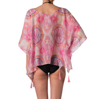 Ogranic silk cotton beach cover-up tunic Pascale Swim