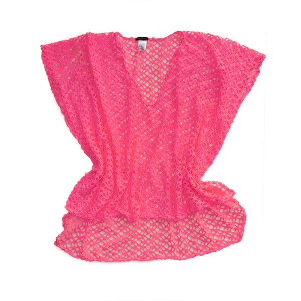 Beach Cover-up - knitted tunic