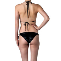 Pascale Swim black bikini set with side ties back