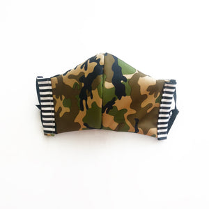 Kids cloth face mask - cammo