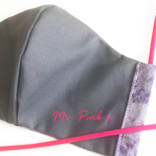 Load image into Gallery viewer, Mr. Pink's // Reusable Face Mask, 2 Layer, Washable, 100% Cotton