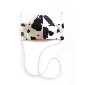 Holy Cow // Reusable Face Mask with Filter Pocket, 3 Layer, Washable, 100% Cotton