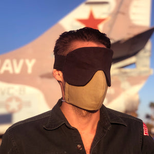 eye mask for flying and sleeping - front 2