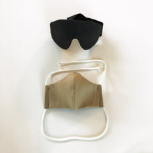 Load image into Gallery viewer, maverick eye mask with cloth face mask