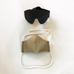 maverick eye mask with cloth face mask