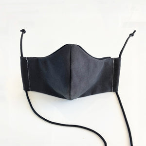 Nightrider // Reusable Face Mask with Filter Pocket, 3 Layer, Washable, 100% Cotton