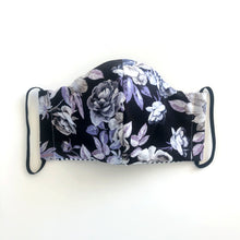Load image into Gallery viewer, Rosé // Reusable & Reversible Face Mask with Filter Pocket, 3 Layer, Washable, 100% Cotton