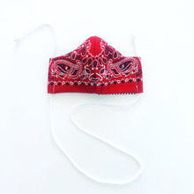 Load image into Gallery viewer, INLAW Cloth Face Mask w/ Filter Pocket - Mr. Pink's Shop - Red