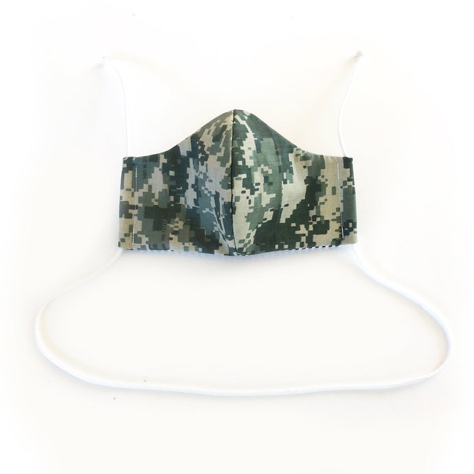 virtual commando cloth face mask - front