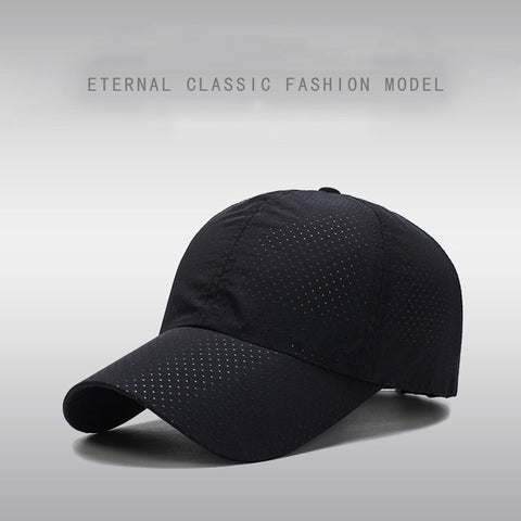 Thin Mesh Quick Dry Running Caps