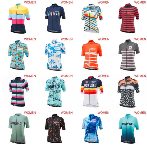 2019 Morvelo Women's Cycling Jerseys