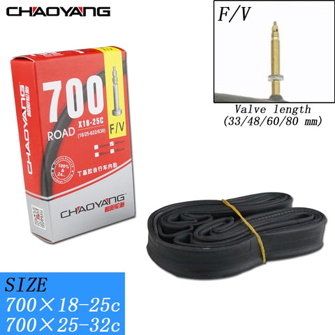 CHAOYANG Inner Bicycle Tube with French Valve