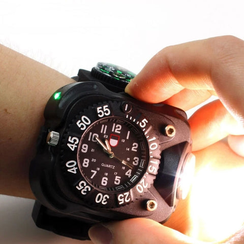 BALIGHT Watch with Compass