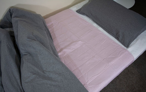 Dusty Rose King Single Brolly Sheet