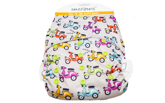 Reusable Cloth Nappy Back