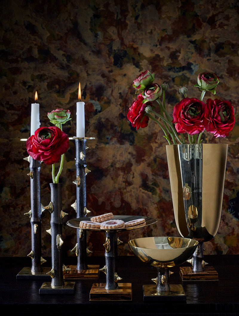 Thorn Candleholders