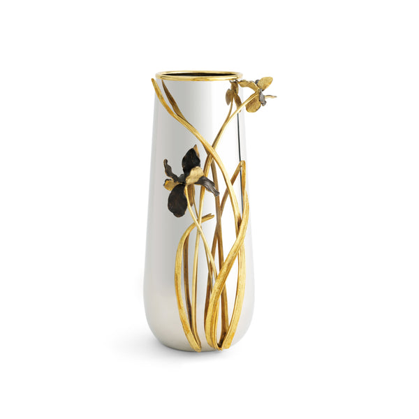 Michael Aram Black Iris Large Vase