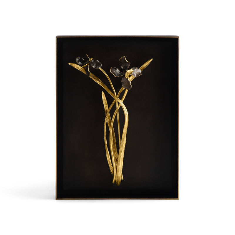 Michael Aram Black Iris Shadow Box