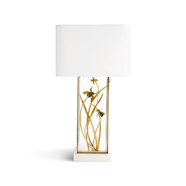 Michael Aram Black Iris Table Lamp