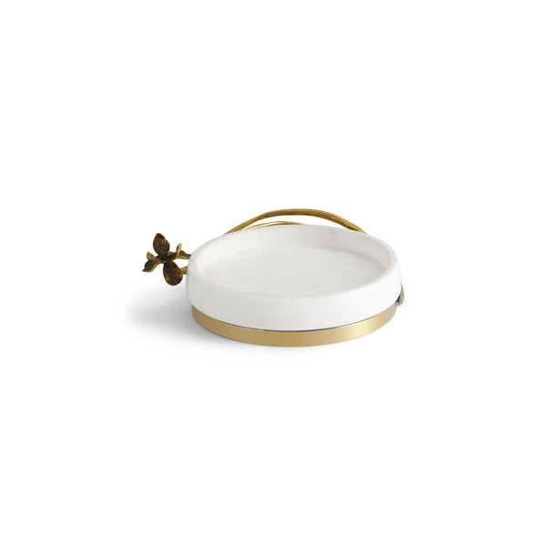Michael Aram Black Iris Trinket Tray