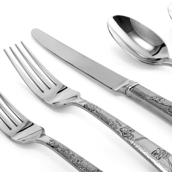 Michael Aram Black Orchid 5-Piece Flatware Set