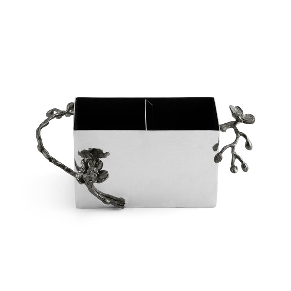 Michael Aram Black Orchid Cutlery Caddy