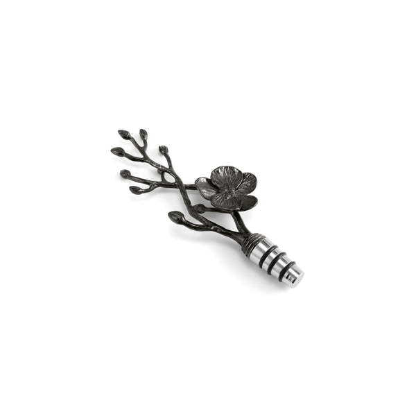 Michael Aram Black Orchid Wine Stopper