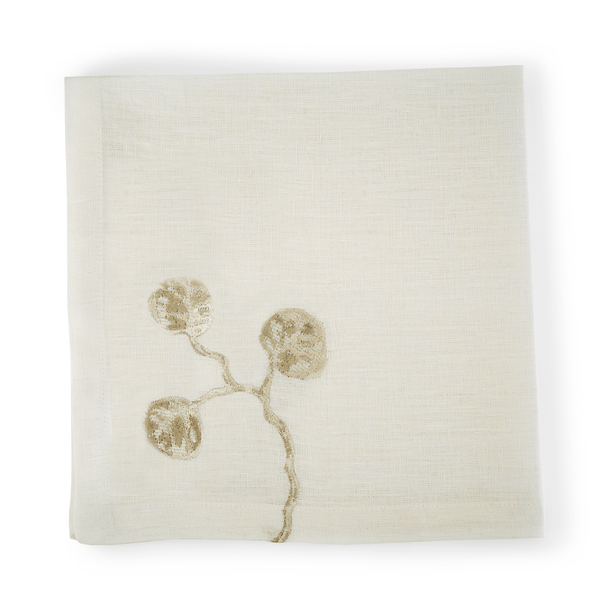 Michael Aram Botanical Leaf Dinner Napkin